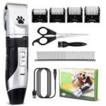 Оригинал              Аккумуляторная Аккумуляторная Pet Волосы Машинка для стрижки волос Professional Animal Собака Кот Электрическая машинка для стрижки Волосы