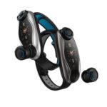 Оригинал              Bakeey Wireless Earbud Bluetooth Наушник Bluetooth Вызов Музыка Погода Дисплей Смарт Часы
