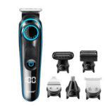 Оригинал              110V-240V USB аккумуляторная Волосы Clipper Многофункциональный Волосы Триммер Электробритва Бритва 10-ступенчатая регулируемая расческа