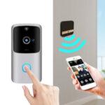 Оригинал              1080P HD Беспроводной Wifi Умный дверной звонок камера PIR Bell Security Home + Chime