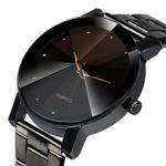 Оригинал              Модные повседневные мужские наручные часы с ремешком из нержавеющей стали Водонепроницаемы