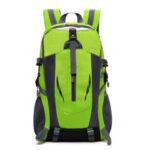 Оригинал              Водонепроницаемый рюкзак большой емкости USB зарядка Corful на открытом воздухе путешествия ноутбук Сумка для 15,6-дюймового ноутбука