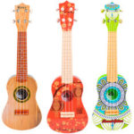Оригинал              21 дюймов Гитара для детей дошкольного образования Музыка для детей Просвещение