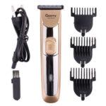 Оригинал              Профессиональный Mens Electric Волосы Clipper Аккумуляторная Борода Триммер Бритва Набор