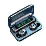 Оригинал              F9-10 TWS Цифровой Дисплей Вкладыши Мини Bluetooth для беспроводной Наушник Спортивные шумоподавления Стереозвук Наушники с зарядкой Чехол