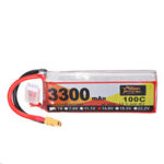 Оригинал              ZOP Power 14.8V 3300mAh 100C 4S Lipo Батарея XT60 Разъем для RC Вертолет Лодка