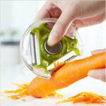 Оригинал              Овощерезка с фруктами Многофункциональный нож из нержавеющей стали Режущие гаджеты Картофельная нарезка моркови Инструмент