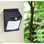 Оригинал              Солнечный Датчик Свет 50/70 / 90led индукционный настенный светильник для человеческого тела Маленький