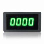 Оригинал              4 Цифровой Зеленый LED Тахометр RPM Измеритель Скорости С Датчик приближения Холла NPN Датчик