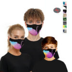 Оригинал              Серия Ink / Digital-Double Chip Анти PM2.5 Пыленепроницаемое лицо Маска Воздухопроницаемый защитный Маска Ветрозащитный Для На открытом воздухе Спорт