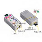 Оригинал              M5Stack® ATOM TailBat Внешний перезаряжаемый литиевый Батарея 190mAh Портативный чип питания IP5303 со световым индикатором