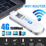 Оригинал              USB 4G LTE Dongle WiFi Router 150 Мбит / с Мобильный широкополосный модем B1/B3 PLUG & PLAY
