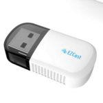 Оригинал              EZcast AC600Mbps USB2.0 Беспроводной WIFI-адаптер 5G / 2.4G Bluetooth 4.2 Двойная Стандарты LAN Антенна Сетевой адаптер WIFI-адаптер для портативных ПК