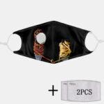 Оригинал              2шт PM2.5 Фильтр пищевой Маска Шаблон Пылезащитный Маска с дыханием Маска