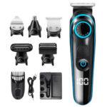 Оригинал              100-240 В перезаряжаемый Волосы Clipper Многофункциональный Волосы Триммер Электробритва Бритва Для бороды, усов, бороды.