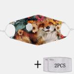 Оригинал              2шт PM2.5 Фильтр одноразовые маски с дыхательной маской