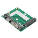 Оригинал              mSATA SSD до 2.5 дюймов SATA 6.0GPS Адаптер Конвертер Модуль платы Плата Mini Pcie SSD Совместимый SATA3.0Gbps / SATA 1.5Gbps