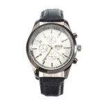 Оригинал              BOSCK Мужская мода Wirst Watch Full Steel Strap Luminous Дисплей Мужские кварцевые часы