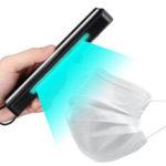 Оригинал              UV UVC Ozone Germicidal Лампа Ультрафиолетовый дезинфекционный свет стерилизатор 4W 6V UV Sterilizer Лампа