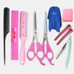 Оригинал              Профессиональные Стрижки Инструмент Набор Парикмахерские Ножницы Зубные Ножницы Плоские Ножницы Бытовой Набор