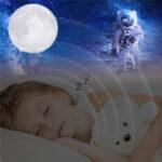 Оригинал              3D Печать Moon Лампа Лунный свет USB Изменение LED Night Light Touch APP 16 цвет