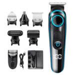 Оригинал              SH-1831 5 В 1 Многофункциональный Электрический Волосы Машинка для Стрижки Бритвы USB Зарядка для Бороды Бритва Триммер Нос Триммер для Дома Муж