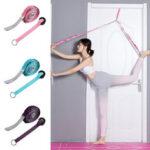 Оригинал              2.4М Дверной проем Yoga Стандарты Плечо Ноги Эластичный подвесной ремень для гимнастики Дом Фитнес Упражнение Набор