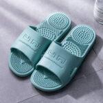 Оригинал              Женщины Массаж с открытым носком Ванная комната Тапки