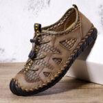 Оригинал              Menico Мужская повседневная дышащая обувь большого размера с защитой от скольжения, устойчивая к скольжению, кроссовки