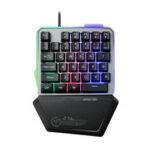 Оригинал              G40 35 клавиш RGB LED Подсветка одноручный Механический Gaming Клавиатура для портативных ПК