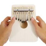 Оригинал              10 клавиш Kalimba Wood Thumb Piano Finger Клавиатура Музыкальный инструмент с настройкой Hammer