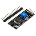 Оригинал              Текстовый модуль I2C Serial LCD для 16×2 / 16×4 / 20×2 / 20×4 LCD Board RobotDyn для Arduino – продукты, которые работают с официальными платами Arduino