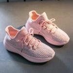 Оригинал              Женские повседневные дышащие сетки на шнуровке нескользящие кроссовки