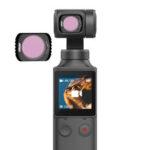 Оригинал              URUAV FP-2 камера Объектив Фильтр ND4 / ND8 / ND16 / ND32 / CPL / STAR / НОЧЬ для FIMI PALM Карманный портативный Gimbal камера Принадлежности