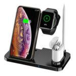 Оригинал              Bakeey 4 в 1 беспроводное зарядное устройство для быстрой зарядки док-станция для Apple Watch iPhone XS 11Pro Xiaomi Mi10 9Pro Redmi K30