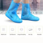 Оригинал              Женщины Водонепроницаемы Прозрачный нескользящий многоразовый На открытом воздухе Высокие верхние чехлы для обуви от дождя