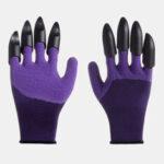 Оригинал              1 пара безопасности Перчатки Сад Перчатки Резина TPR Термопластик Работа ABS Пластиковые когти