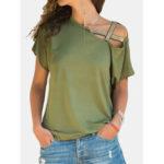 Оригинал              Женская повседневная рубашка с открытыми плечами