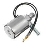"""Оригинал              Электрический электромагнитный клапан клаксона воздуха 12V / 24V сверхмощный 1/4 """"хром"""