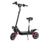Оригинал              LAOTIE ES18 60 В 31.2Ah 2800 Вт * 2 Двойной складной электрический скутер Мотор с седлом 85 км / ч Максимальная скорость 100 км Пробег 200 кг Подшипник с вилк