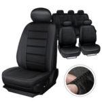 Оригинал              MECO Universal Five Seat Авто Чехлы на сиденья Передние задние подголовники Полный комплект Авто Чехол на сиденье