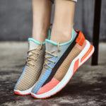 Оригинал              Женские Colorful дышащие кроссовки из сетки