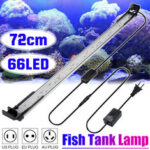 Оригинал              72CM 66LED Аквариум Аквариум Light High-Bright Double Drainage Water Grass