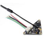 Оригинал              GEPRC GEP-VTX200-WHOOP Треугольник 5,8 ГГц 48-канальный переключаемый / 25/100/200 МВт переключаемый IRC Tramp VTX FPV Передатчик PAL / NTSC для FPV RC Дрон Tiny Whhoop