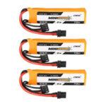 Оригинал              3PCS CNHL MINISTAR HV 7,6 В 550 мАч 70C 2S LiPo Батарея С XT30U Разъем для FPV Racing Дрон