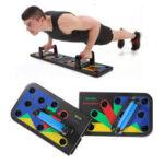 Оригинал              11 в 1 Съемная стойка Push Up Board C Хранение Сумка Главная Фитнес Тренировка мышц брюшного пресса Приседания