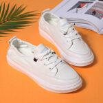 Оригинал              Женские повседневные удобные белые кроссовки Comfy Soft