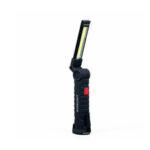 Оригинал              Портативный УДАРА LED Тонкий Рабочий Свет USB Ручной Фонарик Инспекции Магнитный Лампа Складной