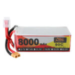 Оригинал              ZOP Power 14.8V 8000mAh 90C 4S Lipo Батарея XT60 Разъем для RC Racing Дрон