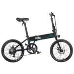 Оригинал              [EU Direct] FIIDO D4s 10.4Ah 36 В 250 Вт 20 дюймов Складной велосипед для мопеда 25 км / ч Максимальная скорость 80 км Пробег Электрический велосипед